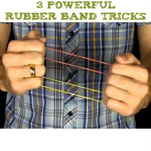 3 Rubber Band Tricks