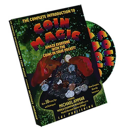 Complete Coin Magic DVD Ammar