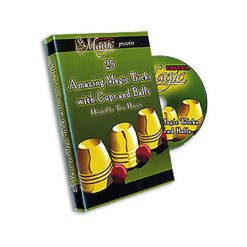 Cups and Balls DVD Royal Magic