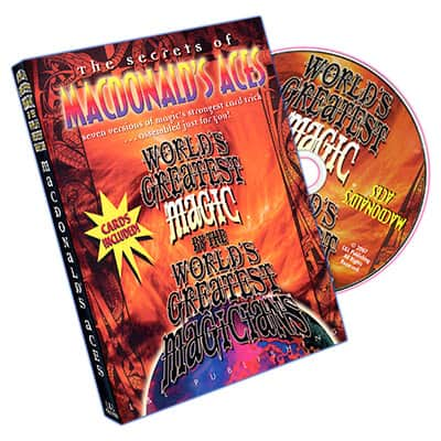 Macdonalds Aces DVD with Cards