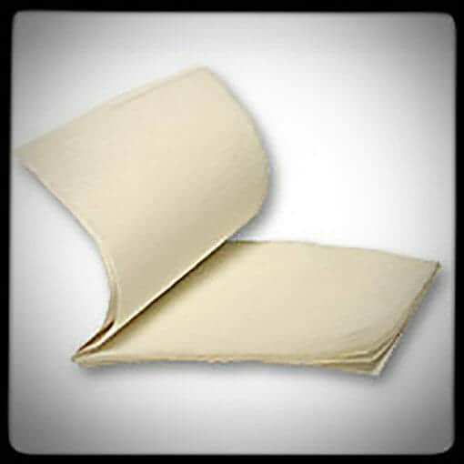 Flash Paper Pads 2x3 Inch Size 20 Sheets