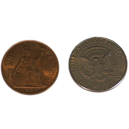 Hopping Half Coins
