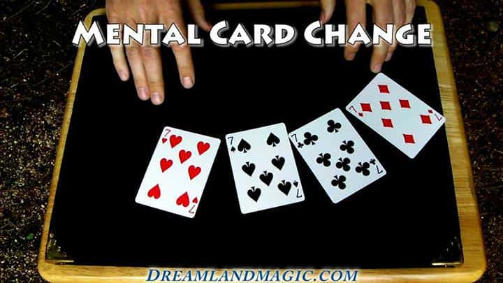 Mental Card Change Trick-From Video