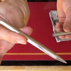 Metal Pen Through Dollar 1