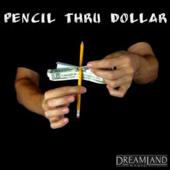 Pencil Through Dollar-Magic Trick
