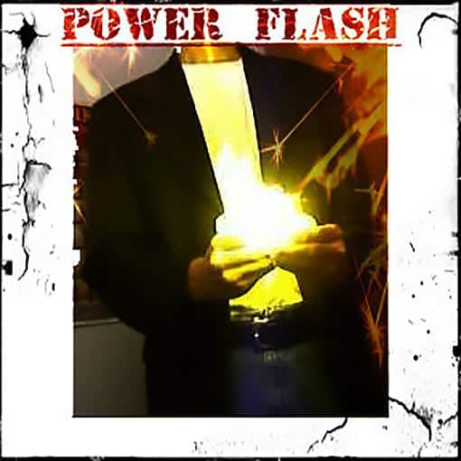 Powerflash fire from hands gimmick