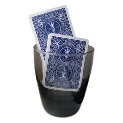 Rising Cards from Glass