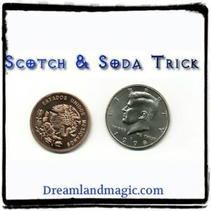 Scotch Soda Coin Trick