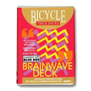 Brainwave Trick Deck Cover