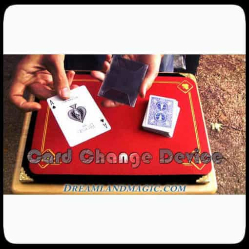Wow Card Change Device. Magic sleeve to change cards