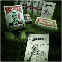 More zombie playing cards