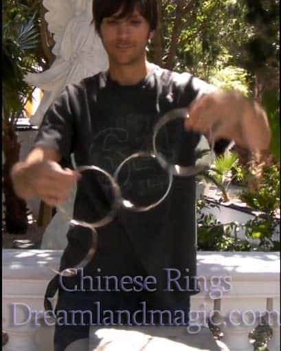 Chinese linking rings 5 inches