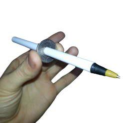Cigarette Through a Quarter or Pen Through Quarter