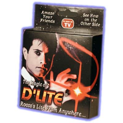 D'lites Magic trick by Rocco Red Pair