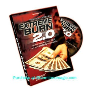 extreme burn 2.0 money trick dvd cover