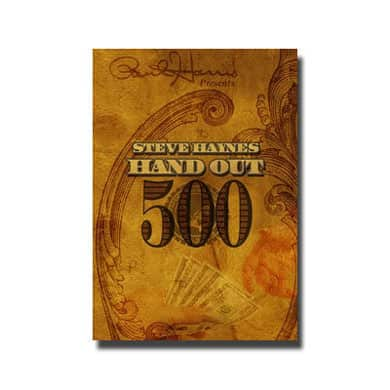 hand out 500 money trick