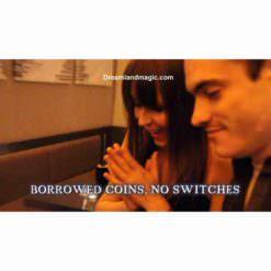 using borrowed coins