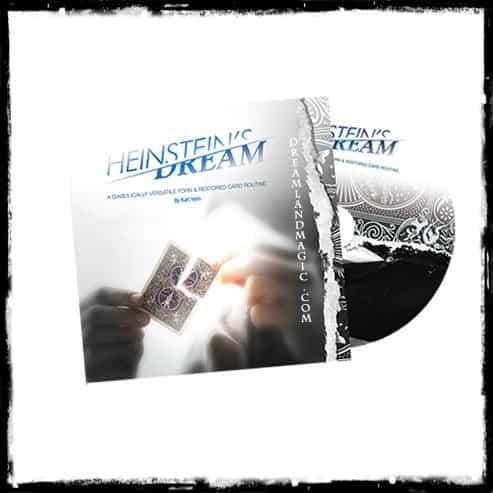 Heinsteins Dream Torn Card DVD Cover