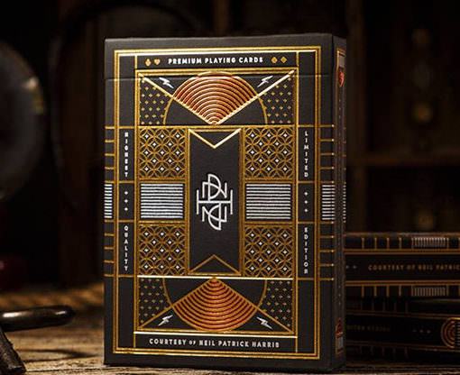 Neil Patrick Harris NPH Playing Cards Box
