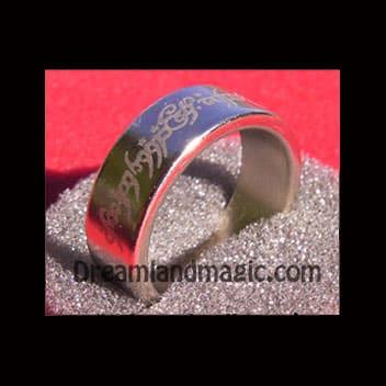 tribal design ring