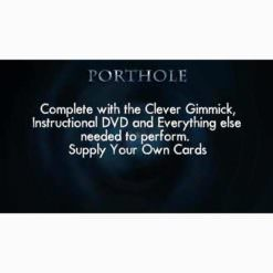 Porthole-Complete with the clever gimmick