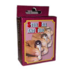 Steel Ball and Tube Trick Box
