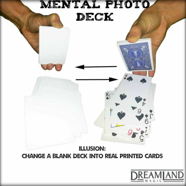 Mental Photography Trick Deck - Blank and Real
