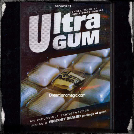 Ultra Gum Trick -Richard Sanders-Gimmicks plus DVD
