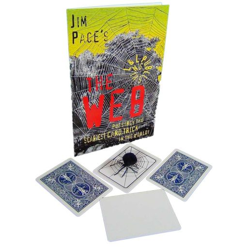 Jim Pace's Web Trick -Showing Spider and Cards