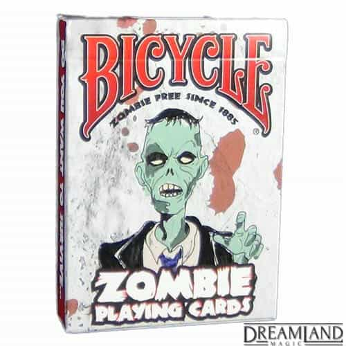 Front Side -Zombie Playing Cards
